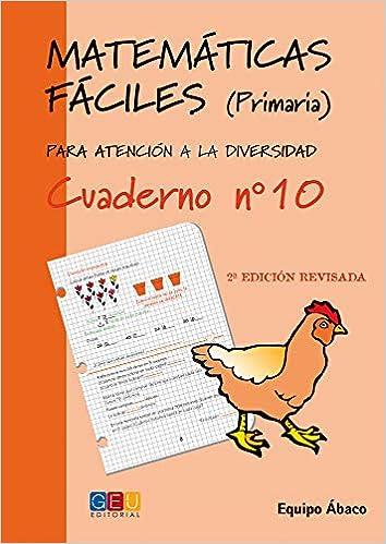 Matemáticas fáciles 10 / Editorial GEU / 4º Primaria ...
