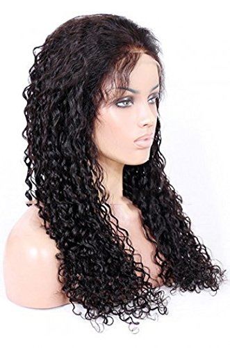 Amazon.com : wigs for black women Brazilian Virgin Hair Full Lace Wigs Natural Straight cheap on sale : Beauty