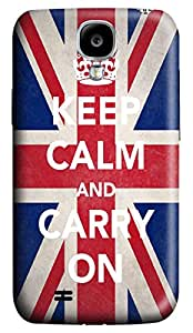 Brian114 Samsung Galaxy S4 Case, S4 Case - Customized 3D Designs Snap-on Case for Samsung Galaxy S4 I9500 Carry On Best Protective Back Case for Samsung Galaxy S4 I9500