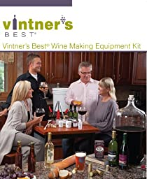 Vintner\'s Best Deluxe Wine Equipment Kit - 6 Gallon Glass Carboy