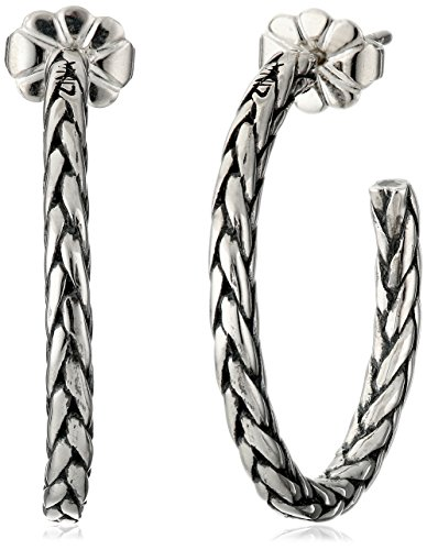Zina Sterling Silver Braided H