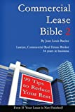 Commercial Lease Bible 2, Jean Racine, 1482502860