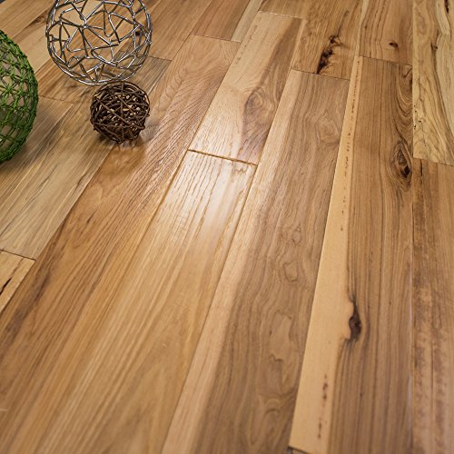 Hickory Character Hand Scraped w/3mm Wear Layer Prefinished Engineered Wood Flooring 5