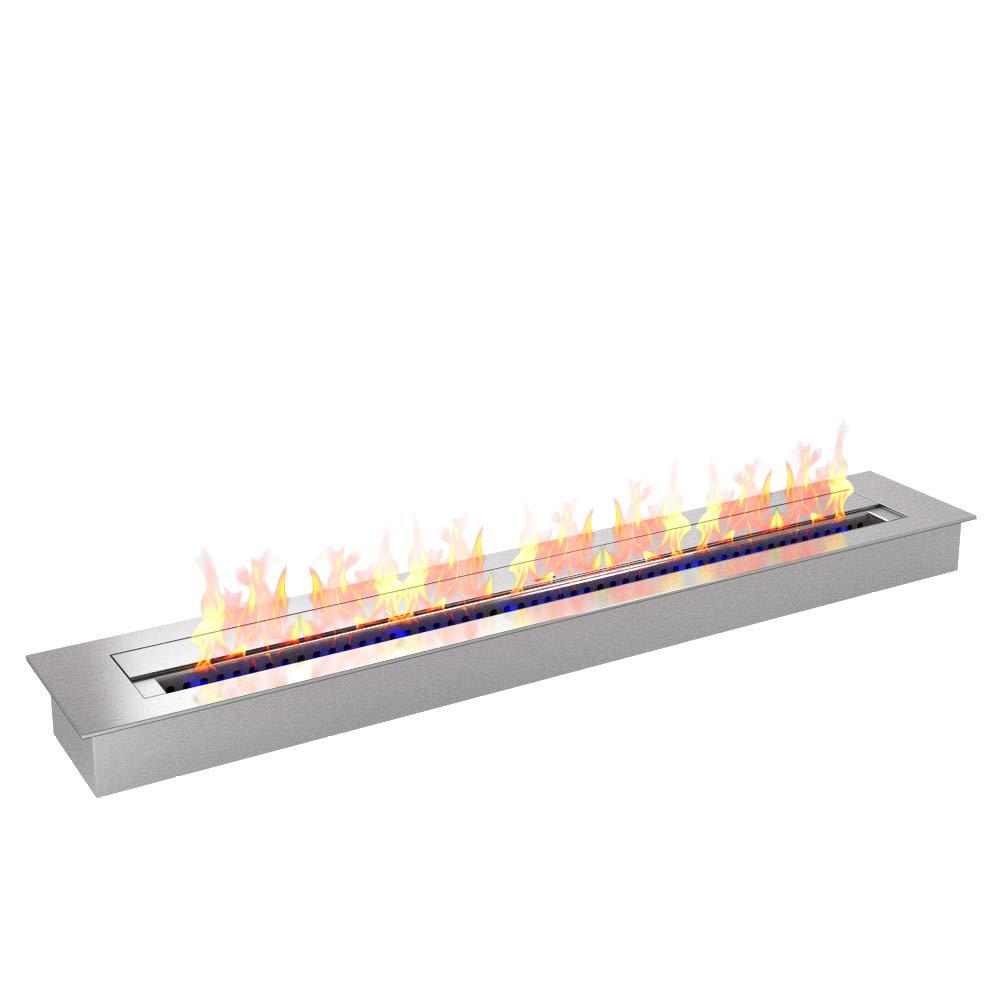 Regal Flame PRO 36 Inch Bio-Ethanol Fireplace Burner Insert 7.4 Liter by Regal Flame