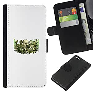 Stuss Case / Funda Carcasa PU de Cuero - Meth Equipo - Apple Iphone 5C