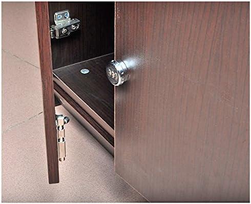 Cerradura de combinación de 3 dígitos y bloqueo de seguridad de estilo nuevo para contraseña personalizada de puerta de cajón de gabinete: Amazon.es: Bricolaje y herramientas