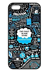 [S Series] Dirt Shock Proof Durable Okay Fault in Our Stars Case for IPhone 5 5S by ruishername