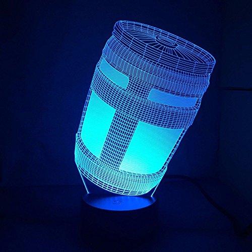Blue Stones Fortnite Game Chug Jug 3D Lamp Light RGBW ...