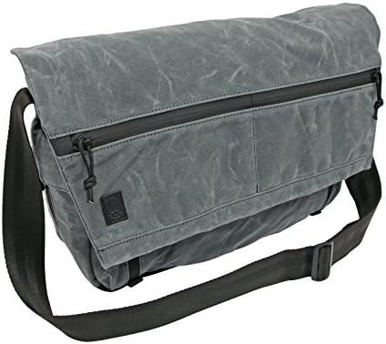 Grey Ghost Gear Wanderer Messenger Bag, Grey