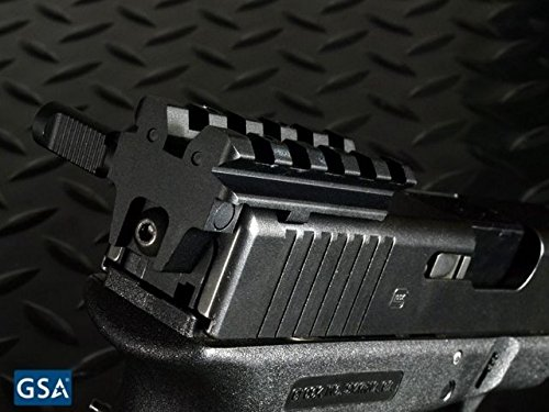 Strike Industries Rear Sight Mount For Glock, Affordable Alternative To Mount Rear SI-GSR (Best Affordable Ar 15 Red Dot)