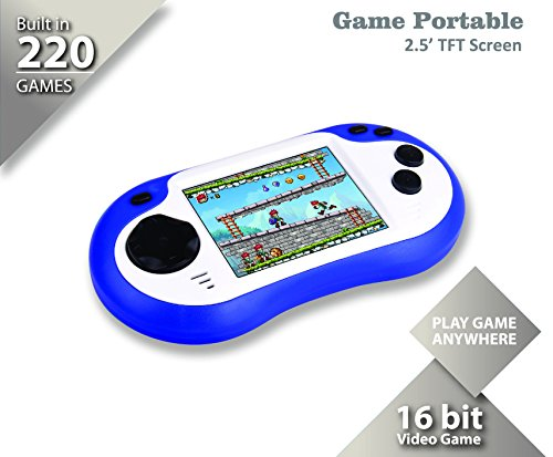 Handheld Game Console 220in1 Video Games Player Portable Game Machines Gaming Device Recreational Machines Game Controller (Best Portable Gaming Device)
