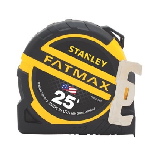 "Stanley FMHT33502S FATMAX Premium Tape Measure, 25' x 1-1/4"" made in New England"