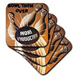 3dRose Vintage Bowl Them Over More Productin