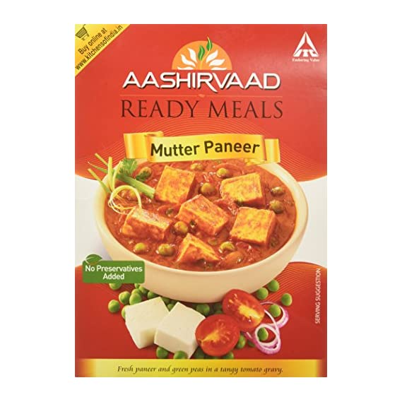 Kitchens of India, Daily Treat, Ready Mutter Paneer, 285g