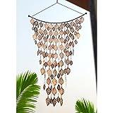 Monarch Rain Chains (MNNN9) 13007 Leaves Wind Chimes
