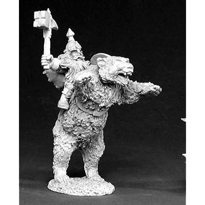 Reaper Dwarven Bear Cavalry Commander: Toys & Games