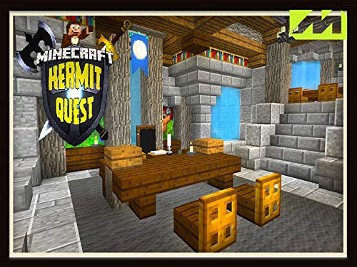 Clip: Hermit Quest: Building Awesome Castle Interior Designs