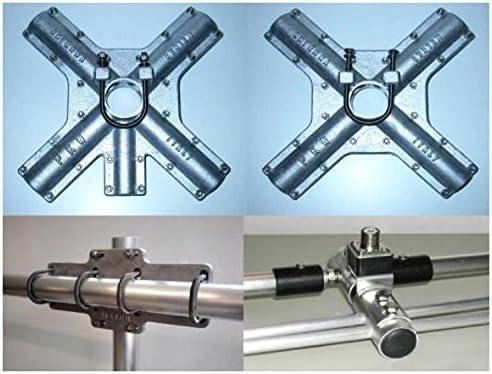 Quad Cubical antena 2 elementos, 20 m 15/10/14/21/28-PKW ...