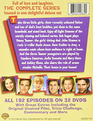 Full House: The Complete Series Collection (Repackage/DVD)