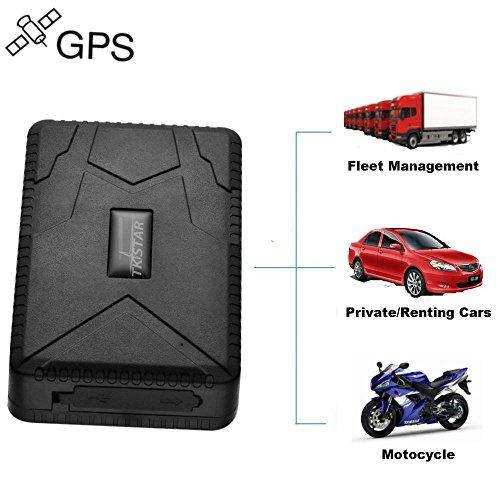 TKSTAR Gps tracker voiture traceur gps traqueur localisateur GPS Traceur Véhicule en Temps Réel Localisateur GPS/A-GPS/LBS Traceur Antivol Voiture Moto Camion TK915
