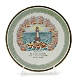Collector Plate by Pope Gosser, China, Gandy Nebraska Calendar Plate
