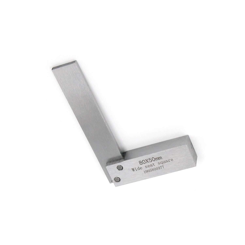 Tulead 100x63mm Precision Square Woodworking Ruler L Shape Carpenter Square 90 Degree Machinist Square Dprd Tasikmalayakab Go Id