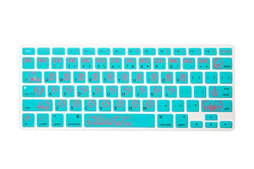 Allytech New Arrival Keyboard Cover Silicone Skin Macbook Pro 13 15 17 Inch (with or w/out Retina Display) iMac and MacBook Air 13
