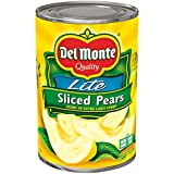 Del Monte Sliced Bartlett Pears, 15 Ounce
