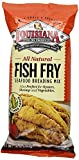 LOUISIANA All Natural Fish Fry Seafood Breading Mix 10 OZ(Pack of 2) by Louisiana