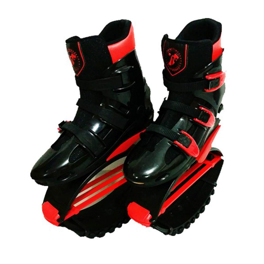 FBEST Rebound Shoes Kangoo Jumps Women Men Anti-Gravity Running Boots Bounce Shoe Jumping,Red,L