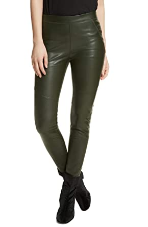 ea23a87db6b768 Free People Womens Slim Fit Faux Leather Leggings at Amazon Women's ...
