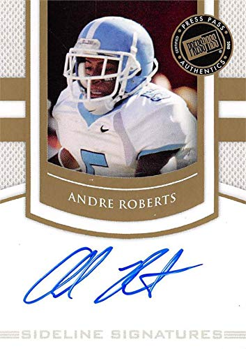 - Andre Roberts autographed football card (The Citadel) 2010 Press Pass Rookie #SSAR