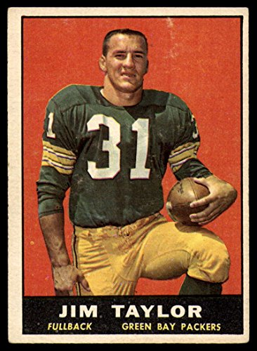 Football NFL 1961 Topps #41 Jim Taylor EX Excellent Packers ()