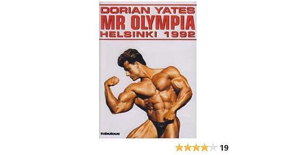 Dorian Yates: Mr Olympia - Helsinki 1992 [Region 2]: Amazon ...