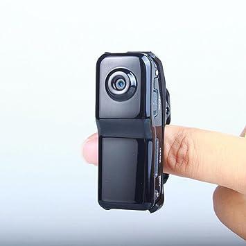 ccloon Mini portátil Mini portátil cámara de 2 MP interior/exterior HD DV cámara espía oculta grabadora de vídeo Seguridad apoyo con voz Control de ...