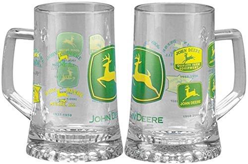 John Deere Glass - John Deere Historical Trademark Glass Mug German Beer Glass