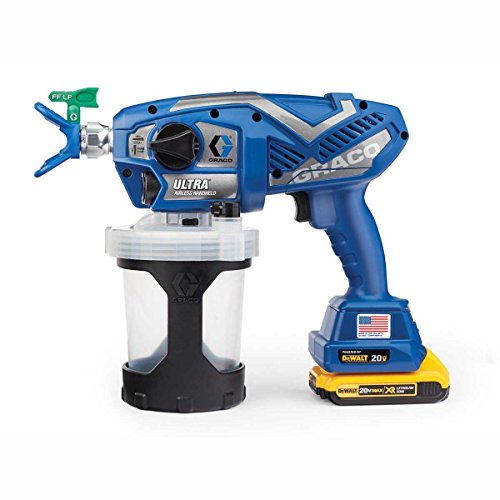 Graco Ultra Cordless Airless Handheld Paint Sprayer (Handheld Sprayer)