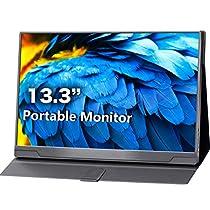 cocopar モバイルモニタ 13.3インチ1920*1080フルHD IPS HDR機...