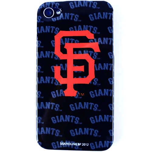 San Francisco Giants Mascot Licensed MLB for Apple iPhone 4 4S Faceplate Hard Back Protector Snap On Case Cover fits Sprint, Verizon, AT&T Wireless