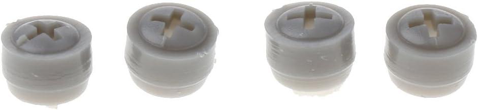 Rejilla de Ventilaci/ón de Salida de Aire para Coche Auto Autocaravana RV Veh/ículo Recreacional 265x70x26mm Gris