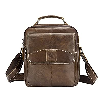 86e3efb4d7 Genda 2Archer Mens Leather Small Shoulder Handbag Messenger Bags chic