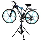 Bicycle Maintenance Repair Stand,Bike Cycle Repair Folding Work Stand Mountain Tool Mechanic Adjustable Workstand Rack