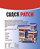 Red Devil 0805   Crack Patch Premium Acrylic Spackling, 5.5-Ounce, Off White