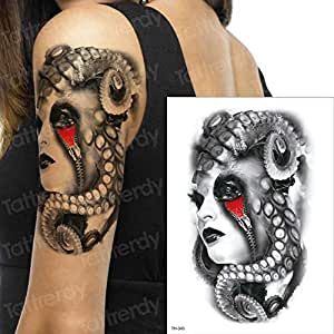 3ps-Horror Clock Crow Black Cloud Pyramid Scorpion Scorpion Tattoo ...
