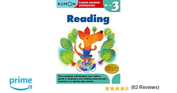 Amazon.com: Grade 3 Reading (Kumon Reading Workbooks ...