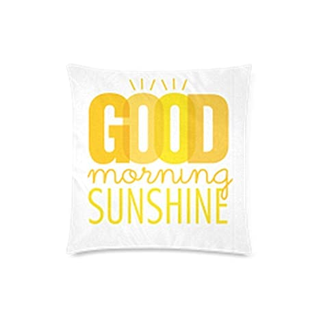 Amazon.com: Funny Good Morning Sunshine – Funda de cojín ...