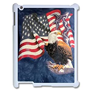 Bald Eagle on US American Flag For Ipad 2/3/4 Case GHLR-T378485