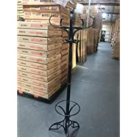 SQUARE FURNITURE Floor Standing Hat and Coat Rack with Umbrella Stand