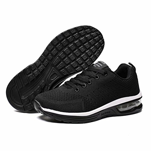 Pictures of JIAWA Mens Sports Running Shoes Womens Cushion 1JRMR506 4