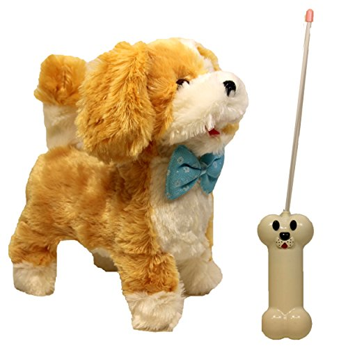 - Remote Control Puppy with Bone, Dog 2 Function Toy